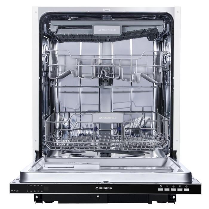 Посудомоечная машина Maunfeld MLP-12B, класс А++, 47 Дб, серебристый фото