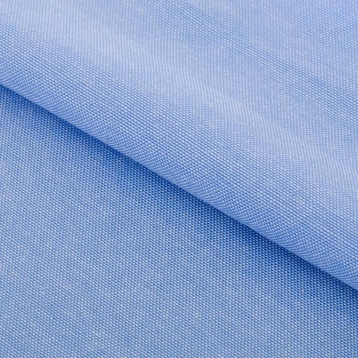 Ткань для пэчворка мягкая джинса светло-голубая, 18 х 23 см фото