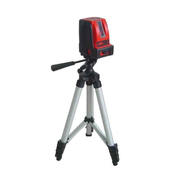 Нивелир лазерный Elitech ЛН 5, 3х1.5В (АА), 40/70м, ±1мм/5м, гор/верт луч, штатив, чехол фото