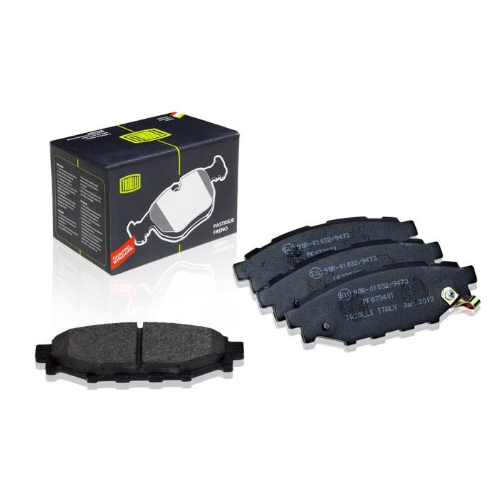 Колодки тормозные дисковые задние TRIALLI PF073401 фото