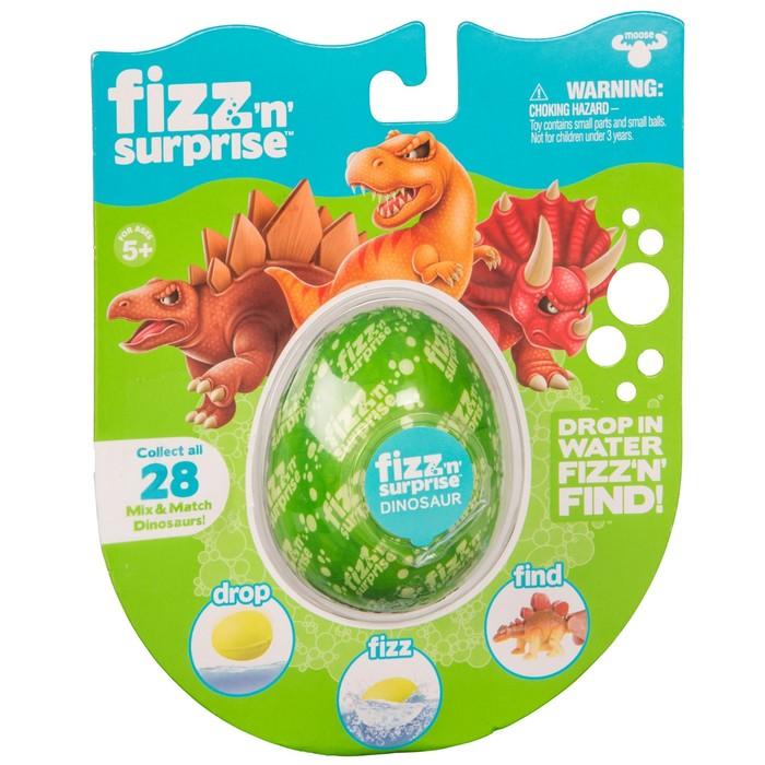Шипучее яйцо FIZZ N Surprise «Динозавры» фото