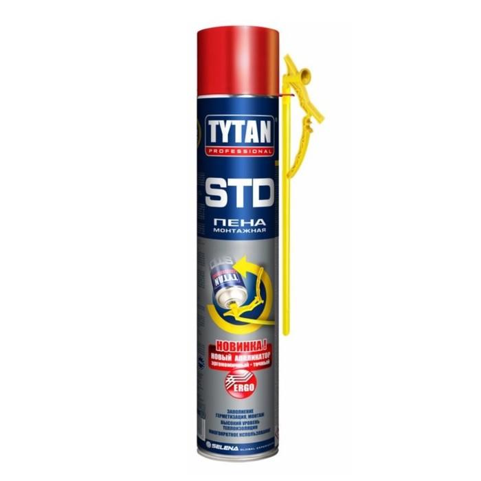 Пена монтажная Tytan STD ЭРГО, 750 мл фото