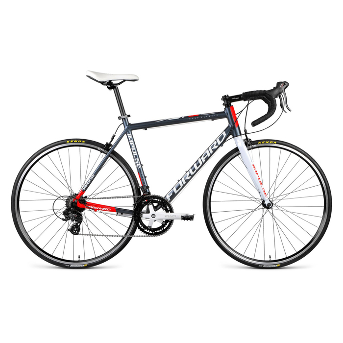 """Купить со скидкой Велосипед 28"""" Forward Impulse 1.0, 2018, цвет черный, размер рамы 540 мм"""