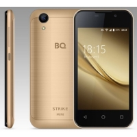 "Смартфон BQ S-4072 Strike Mini Gold Brushed 2sim, 4,0"" 800*480, 1GB+8Gb, 5Mp+2Mp"