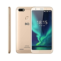 "Смартфон BQ S-5512L Strike Forward 5,45"",1440*720, 16Gb, 2GbRAM,Fingerprint золотой"