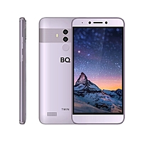 "Смартфон BQ S-5516L Twin Gray 5,5""IPS,1920*1080,16Gb,2GbRAM,13+8+2Mp,FaceID"