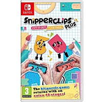 Nintendo Switch: Snipperclips Plus: Cut it out, together!