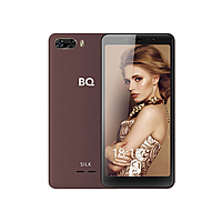 "Смартфон BQ S-5520L Silk, 5.5"", 1440x720, 8Gb, 1Gb RAM, 2500mAh, 8+5Mp, коричневый"