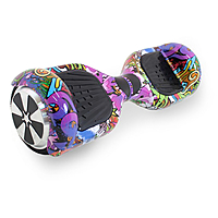 "Гироскутер 6,5"" Hoverbot A-3 LIGHT, цвет purple multicolor"