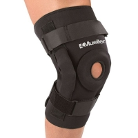 Бандаж на колено MUELLER 5333 PRO-LEVEL HINGED KNEE BRACE DELUX L